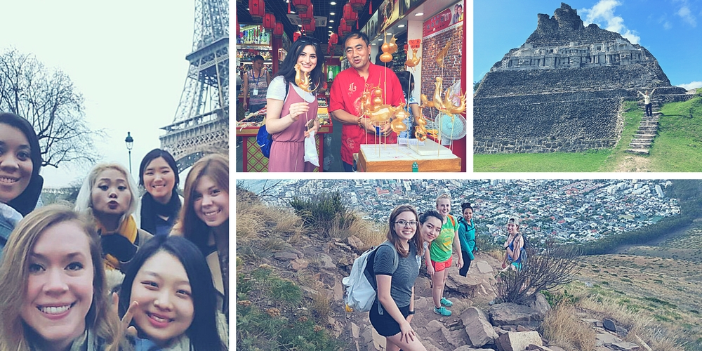 Students Abroad Collage