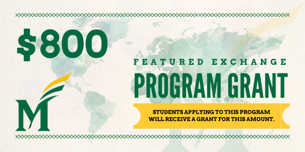 USD 800 Feat. Exchange Grant