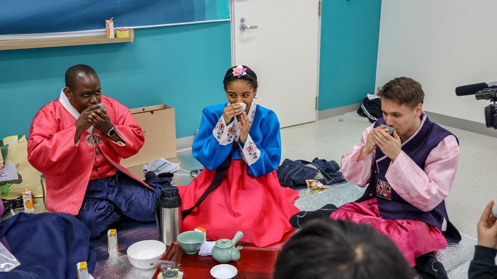 Mason Korea Ceremony